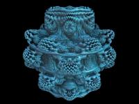 The amazing 3-D Mandelbulb set