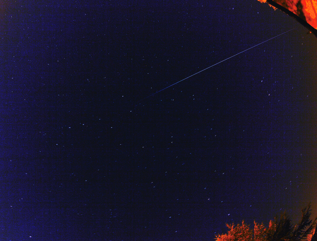 The ISS on 24th April 2011