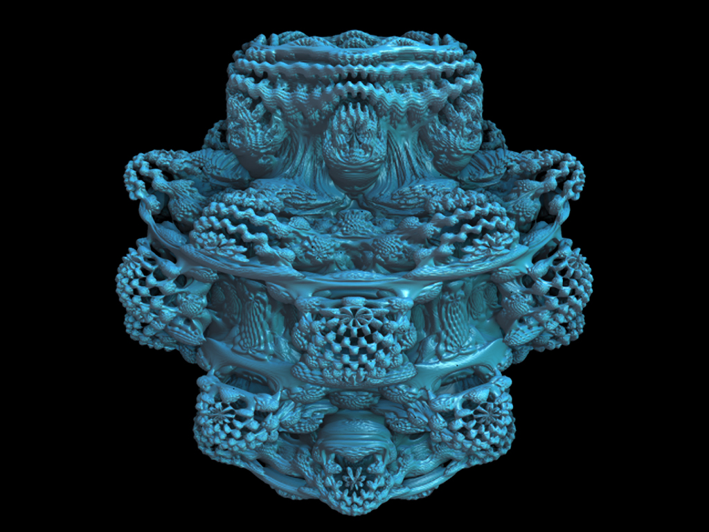 The amazing 3-D Mandelbulb set