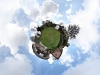 Little Planet image of the New Forest Observatory