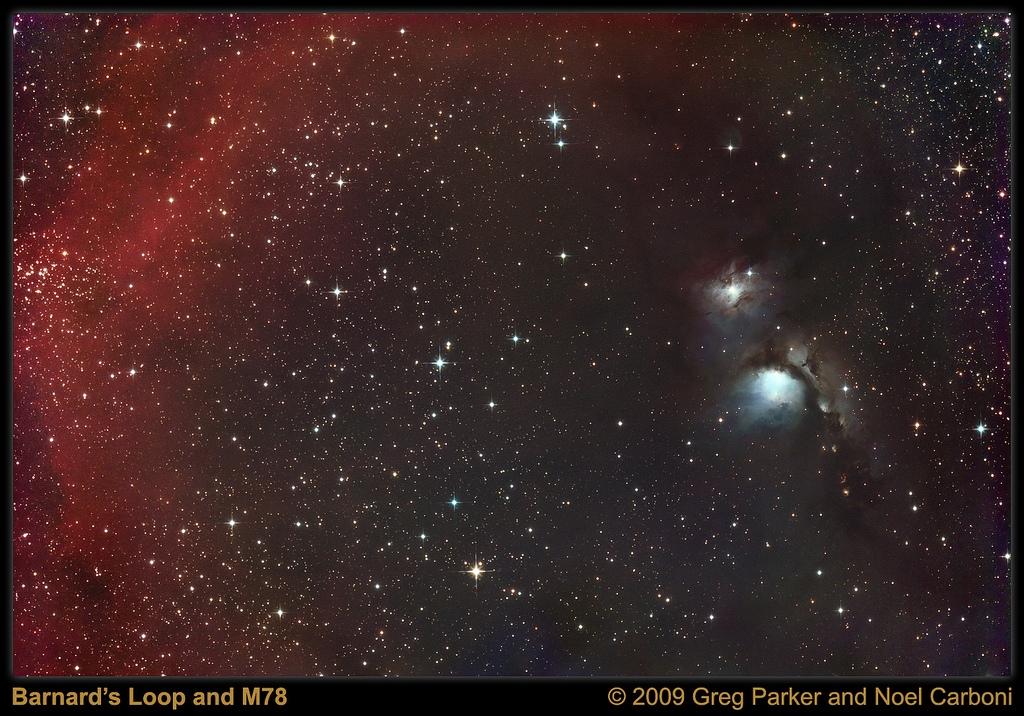 M78 and Barnard\'s Loop