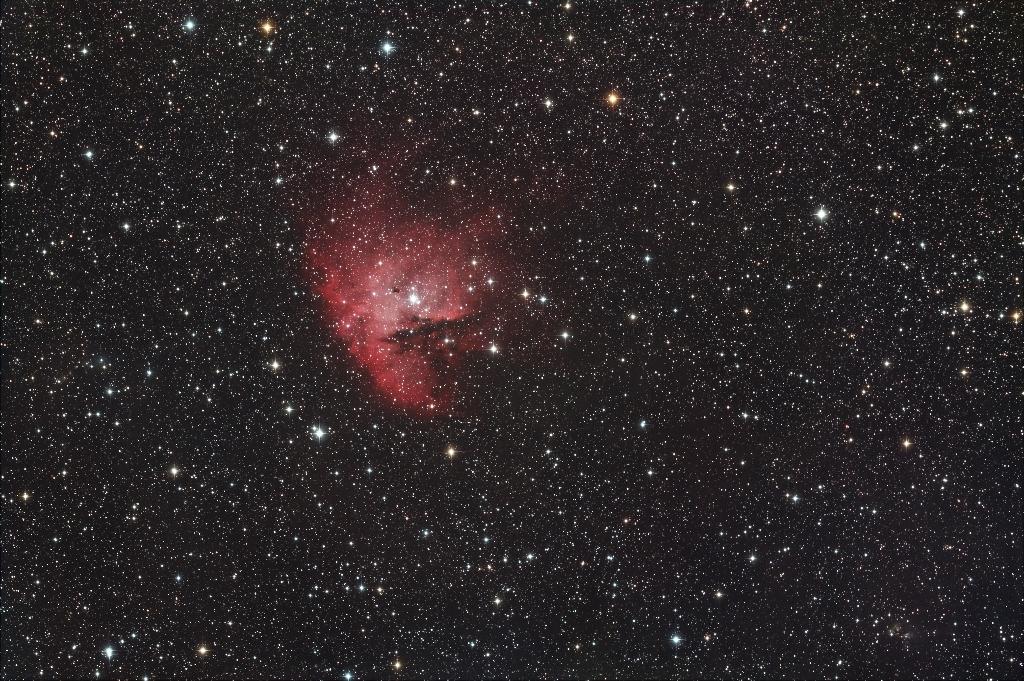 The Pac Man nebula
