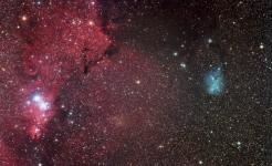 Cone nebula Trumpler 5 IC2169