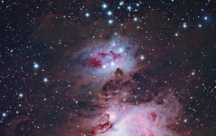 The Running Man nebula in Orion