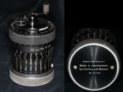 Type II black Curta calculator July 1953