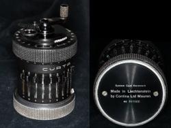 Type II black Curta calculator July 1953