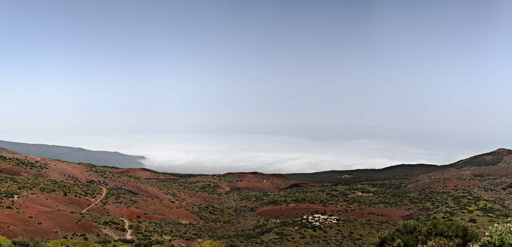 Above the clouds on Teide